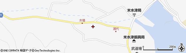 大分県佐伯市米水津大字浦代浦1193周辺の地図
