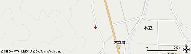大分県佐伯市木立1035周辺の地図