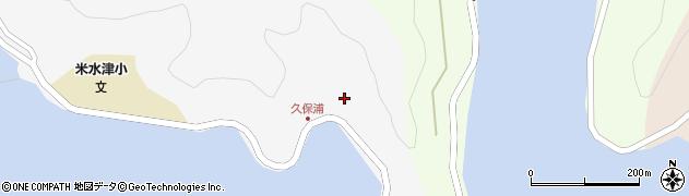 大分県佐伯市米水津大字浦代浦22周辺の地図