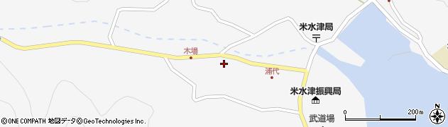 大分県佐伯市米水津大字浦代浦1191周辺の地図