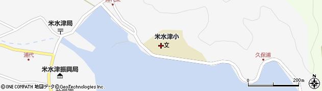 大分県佐伯市米水津大字浦代浦150周辺の地図