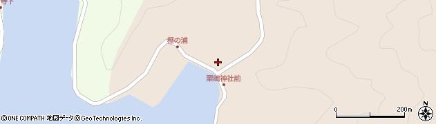 大分県佐伯市米水津大字小浦56周辺の地図