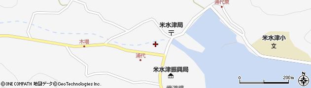 大分県佐伯市米水津大字浦代浦1234周辺の地図