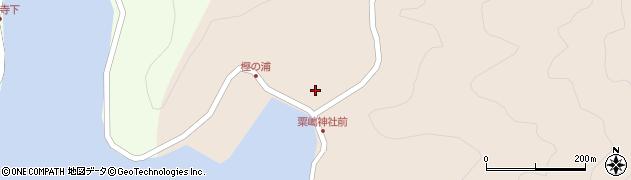 大分県佐伯市米水津大字小浦57周辺の地図