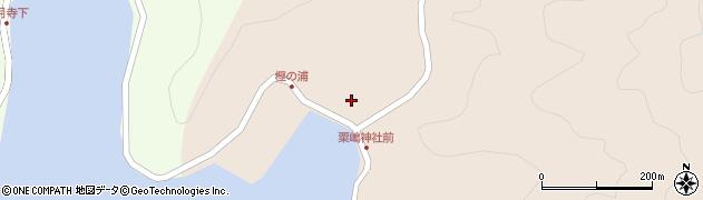 大分県佐伯市米水津大字小浦54周辺の地図