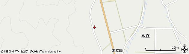 大分県佐伯市木立992周辺の地図