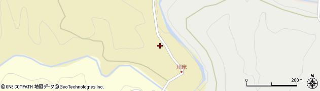 大分県竹田市荻町馬背野1162周辺の地図