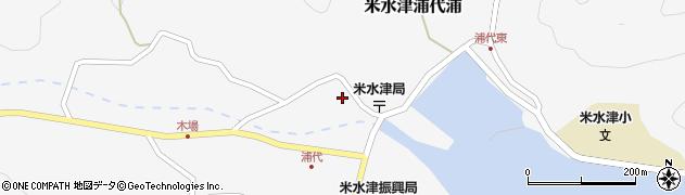 大分県佐伯市米水津大字浦代浦729周辺の地図