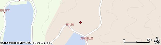 大分県佐伯市米水津大字小浦110周辺の地図