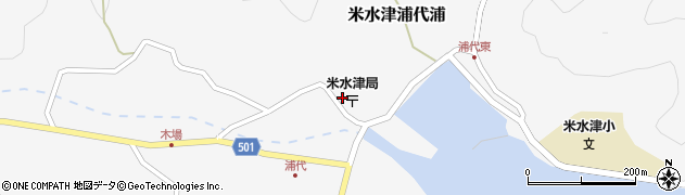 大分県佐伯市米水津大字浦代浦706周辺の地図
