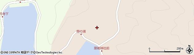 大分県佐伯市米水津大字小浦98周辺の地図