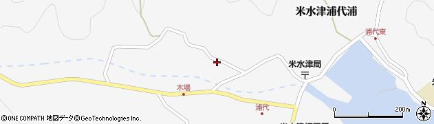 大分県佐伯市米水津大字浦代浦855周辺の地図