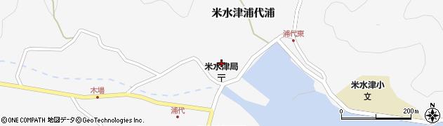 大分県佐伯市米水津大字浦代浦697周辺の地図