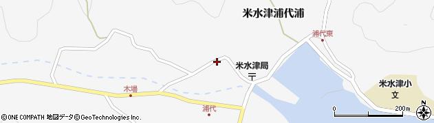 大分県佐伯市米水津大字浦代浦730周辺の地図