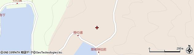 大分県佐伯市米水津大字小浦77周辺の地図