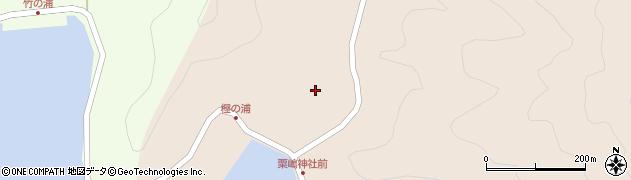 大分県佐伯市米水津大字小浦80周辺の地図