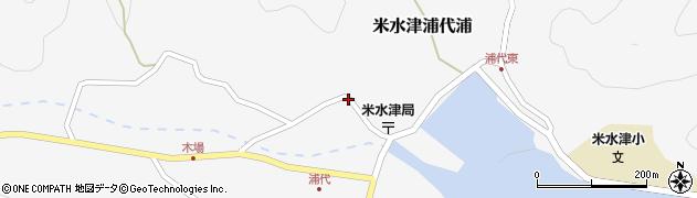 大分県佐伯市米水津大字浦代浦726周辺の地図