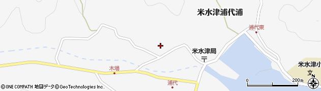 大分県佐伯市米水津大字浦代浦752周辺の地図