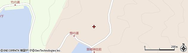 大分県佐伯市米水津大字小浦74周辺の地図