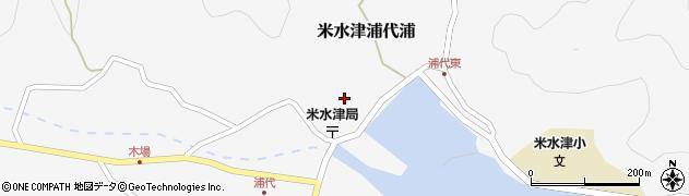 大分県佐伯市米水津大字浦代浦680周辺の地図