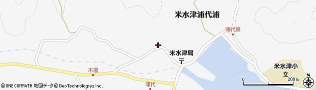 大分県佐伯市米水津大字浦代浦739周辺の地図