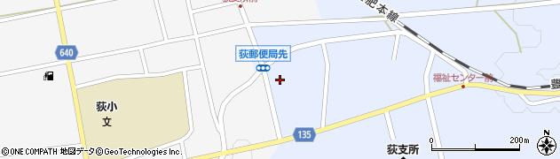 大分県竹田市荻町恵良原736周辺の地図