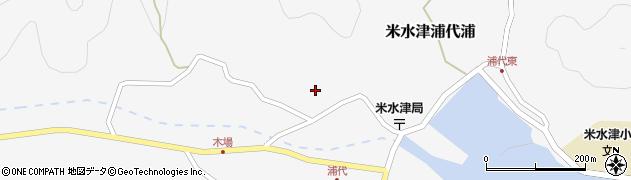大分県佐伯市米水津大字浦代浦771周辺の地図