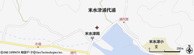 大分県佐伯市米水津大字浦代浦682周辺の地図