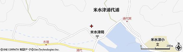 大分県佐伯市米水津大字浦代浦715周辺の地図