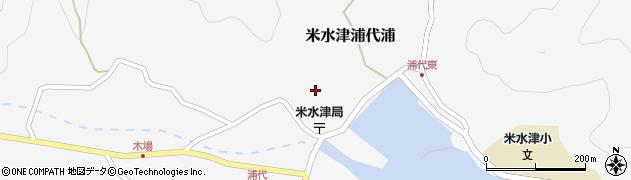 大分県佐伯市米水津大字浦代浦676周辺の地図