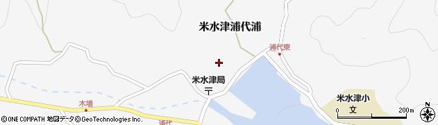大分県佐伯市米水津大字浦代浦639周辺の地図