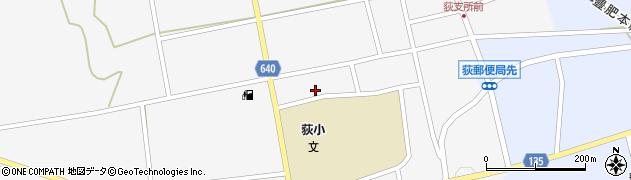 大分県竹田市荻町馬場南区周辺の地図