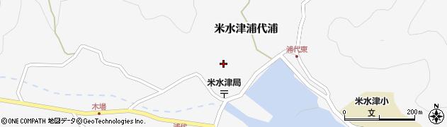 大分県佐伯市米水津大字浦代浦674周辺の地図
