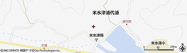 大分県佐伯市米水津大字浦代浦668周辺の地図