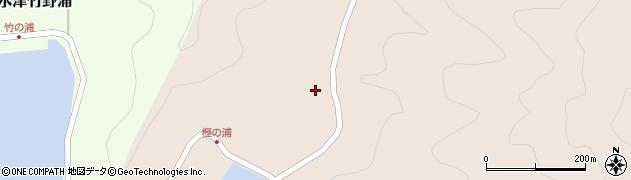 大分県佐伯市米水津大字小浦340周辺の地図