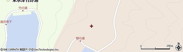 大分県佐伯市米水津大字小浦18周辺の地図