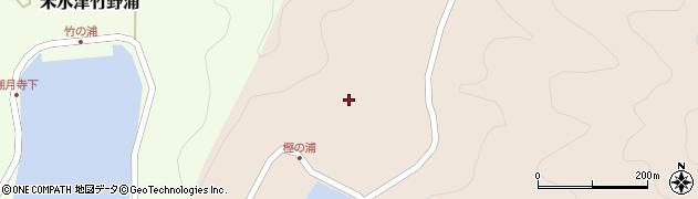 大分県佐伯市米水津大字小浦17周辺の地図