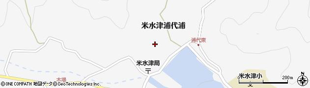 大分県佐伯市米水津大字浦代浦642周辺の地図