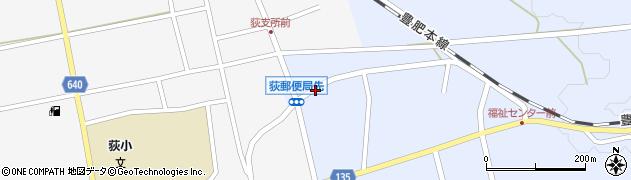 大分県竹田市荻町恵良原735周辺の地図
