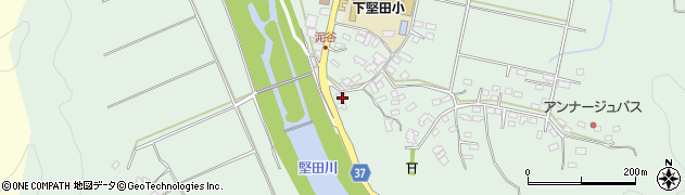 大分県佐伯市堅田5563周辺の地図