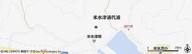 大分県佐伯市米水津大字浦代浦640周辺の地図