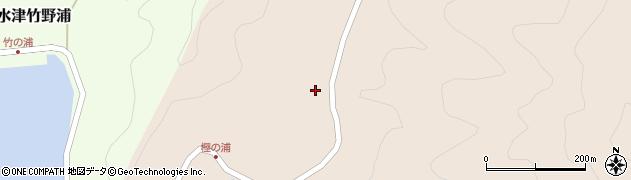 大分県佐伯市米水津大字小浦321周辺の地図