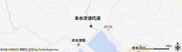 大分県佐伯市米水津大字浦代浦598周辺の地図