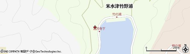 大分県佐伯市米水津大字竹野浦111周辺の地図