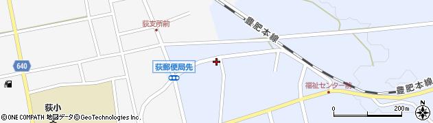 大分県竹田市荻町恵良原733周辺の地図