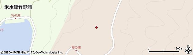 大分県佐伯市米水津大字小浦132周辺の地図
