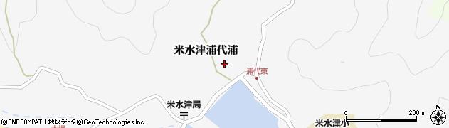 大分県佐伯市米水津大字浦代浦579周辺の地図
