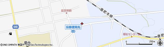大分県竹田市荻町恵良原728周辺の地図