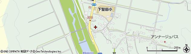 大分県佐伯市堅田5554周辺の地図