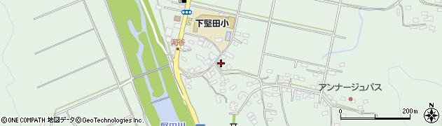 大分県佐伯市堅田5517周辺の地図